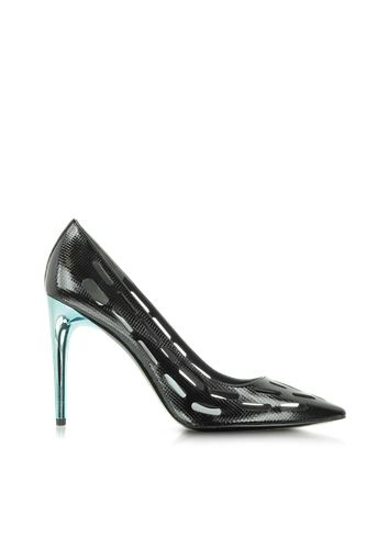7701eedc1e69 Kenzo Black Perforated Pump  425.00 Actual transaction amount