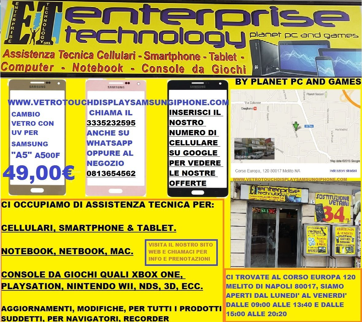 Pin di ENTERPRISE TECHNOLOGY SRL su AssistenzaTecnica