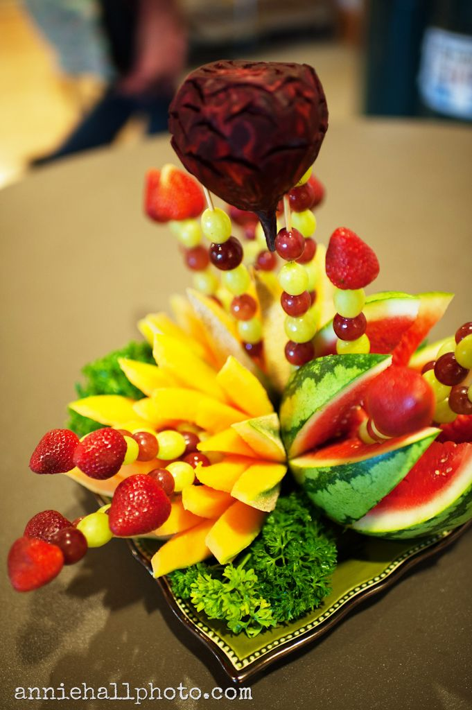 Fruit Centerpieces For The Holud Our Wedding Our Love Our Future