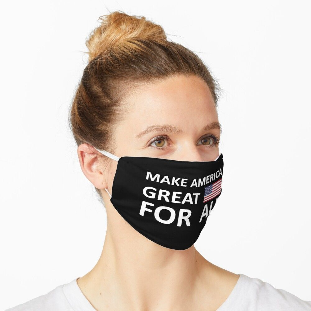Make America Great For All Breonna Taylor Michael Brown Mask By Schlossinspire In 2020 Mask Funny Face Mask Funny Mask