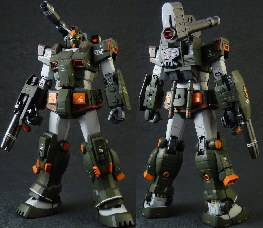 Gundam Guy Mg 1 100 Fa 78 1 Full Armor Gundam Customized Build Gundam Gundam Model Armor