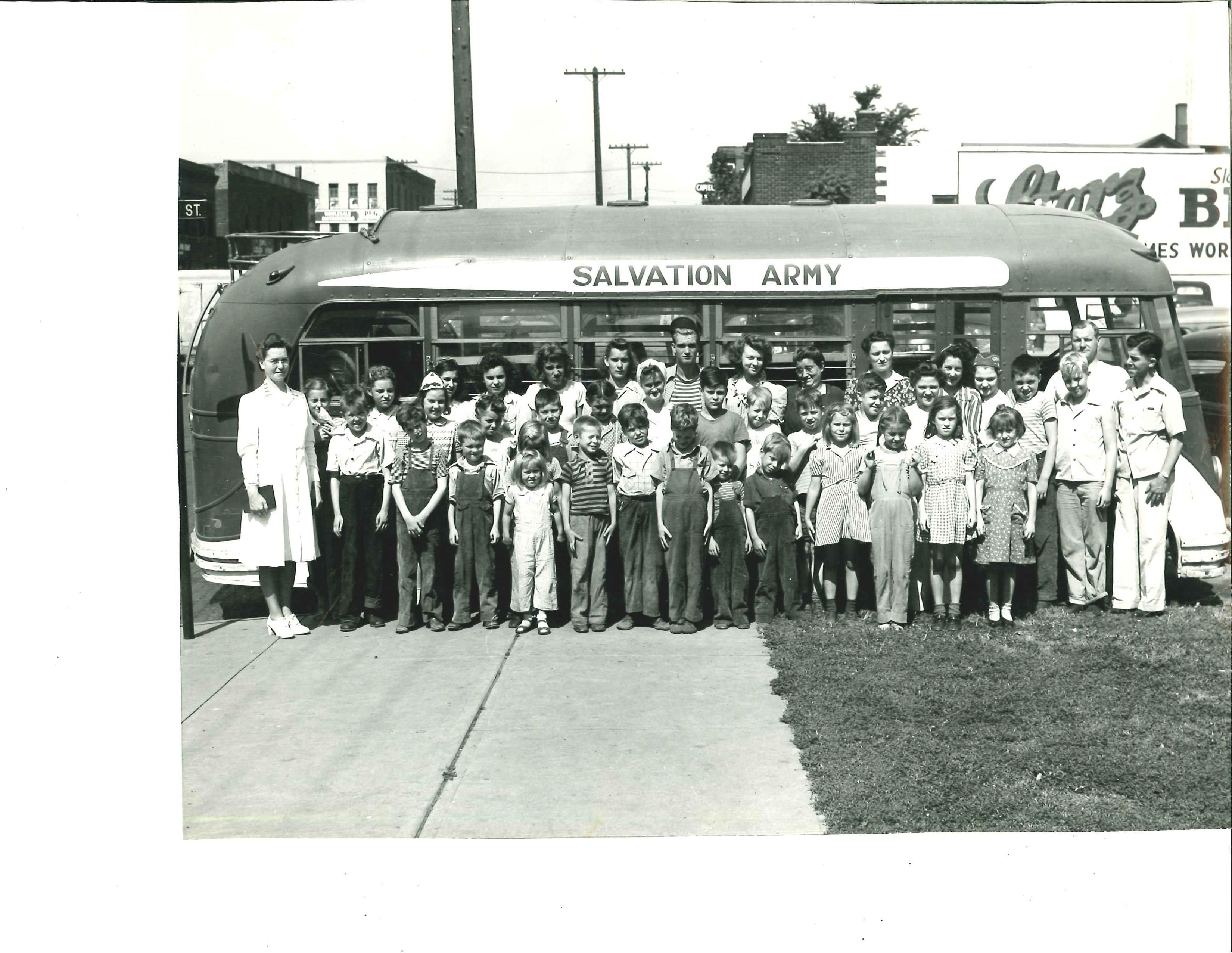 Lincoln Ne Youth Work Circa1944 Youth Work Children S Ministry Salvation Army