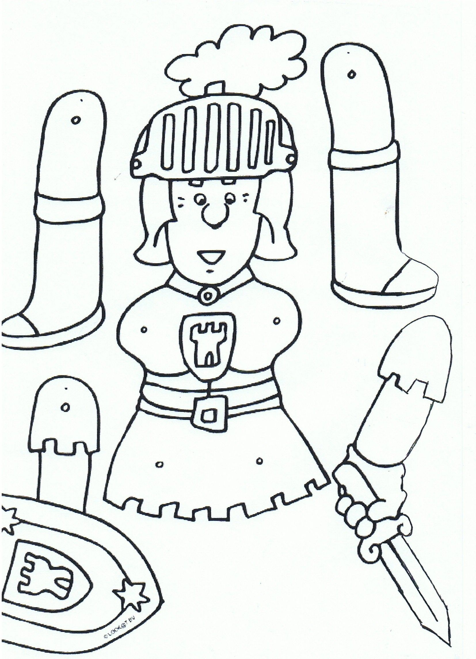 Coloriage Armure Chevalier.Mobile De Chevaliers En Armure 4 Rocnik Fairy Tale Crafts Crown