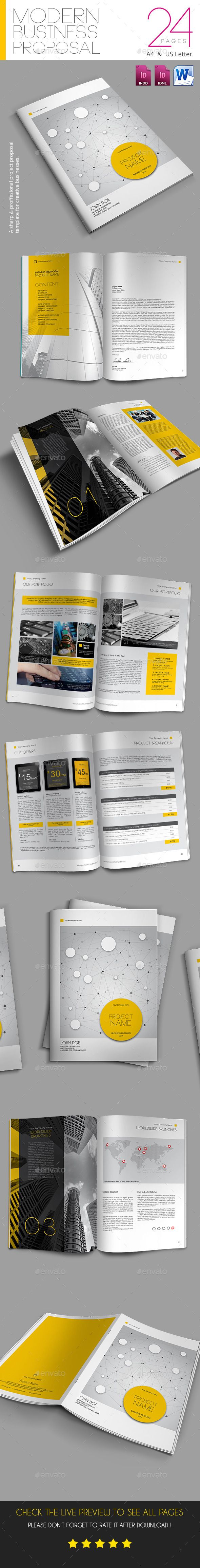 Modern Business Proposal – Business Proposal Download