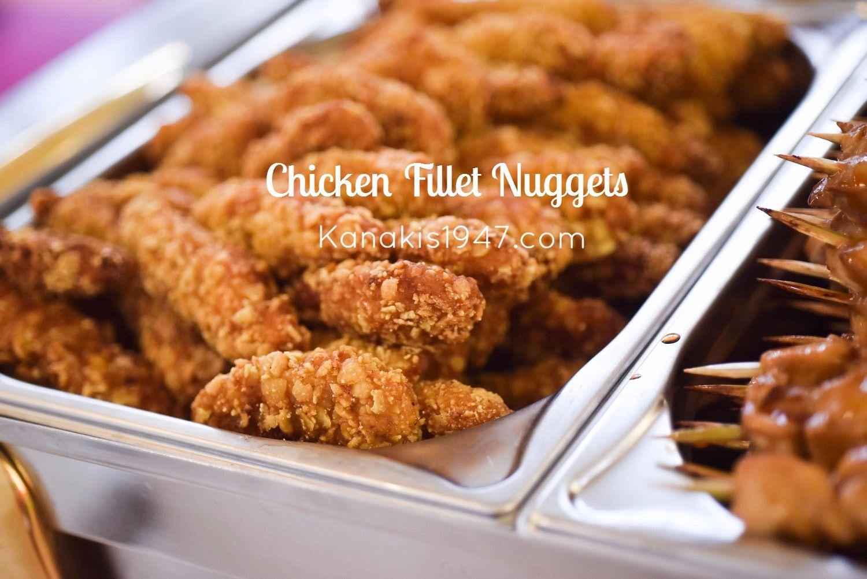 Κοτομπουκιές από ζουμερό φιλέτο κοτόπουλο, με τραγανή κρούστα.  http://www.kanakis1947.com/#!cateringkanakis/c121q