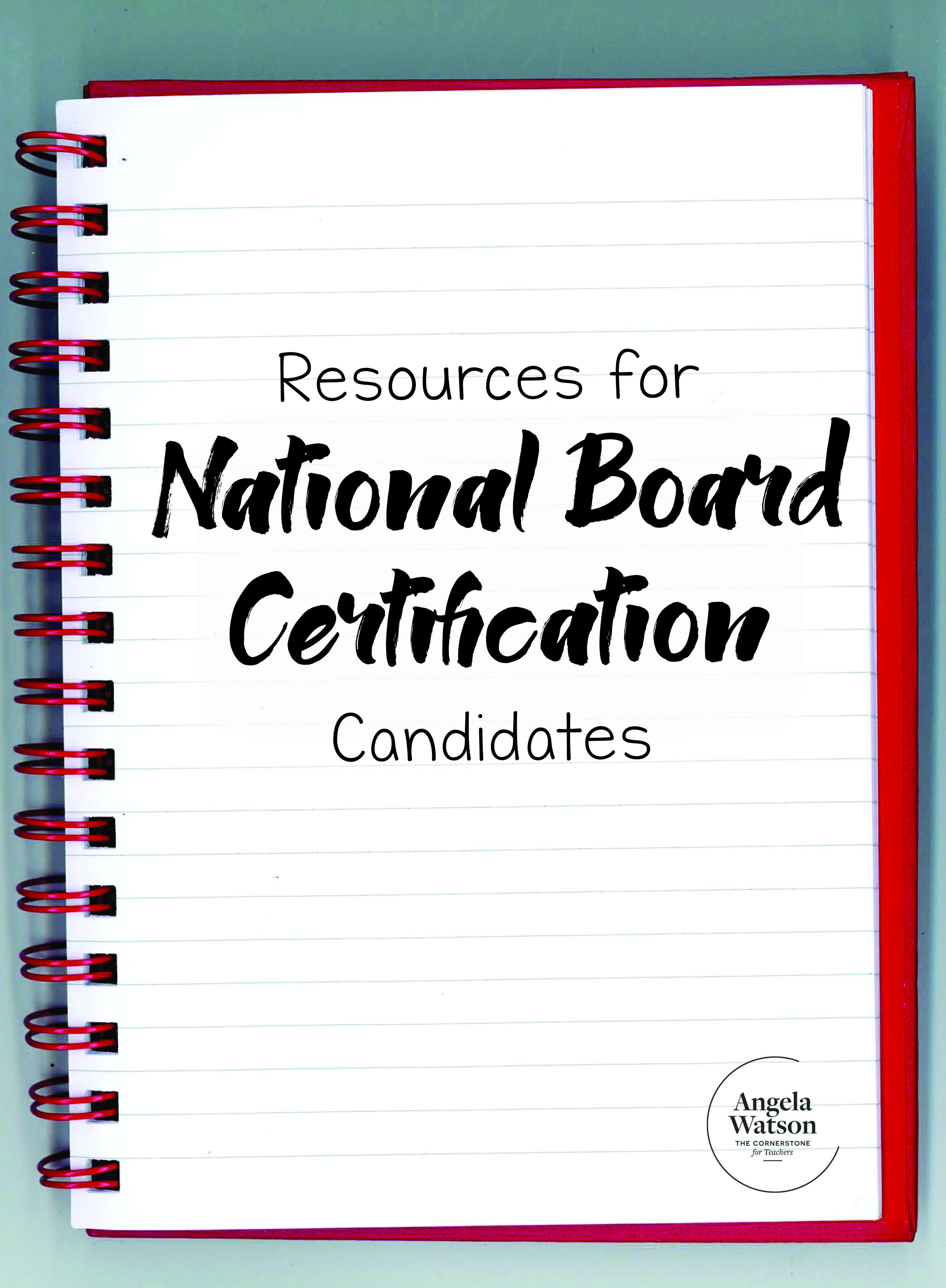 Resources for national board certification candidates national its officialim a national board certified teacher only those who have 1betcityfo Gallery