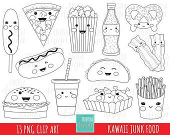 Pin By Beatrice Duran On Art Digi Stamp Cute Coloring Pages Kawaii Doodles