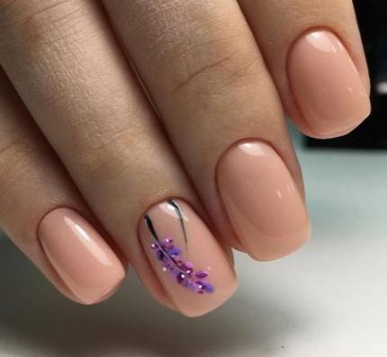 nails shellac lilac 37 super ideas nails  lilac nails