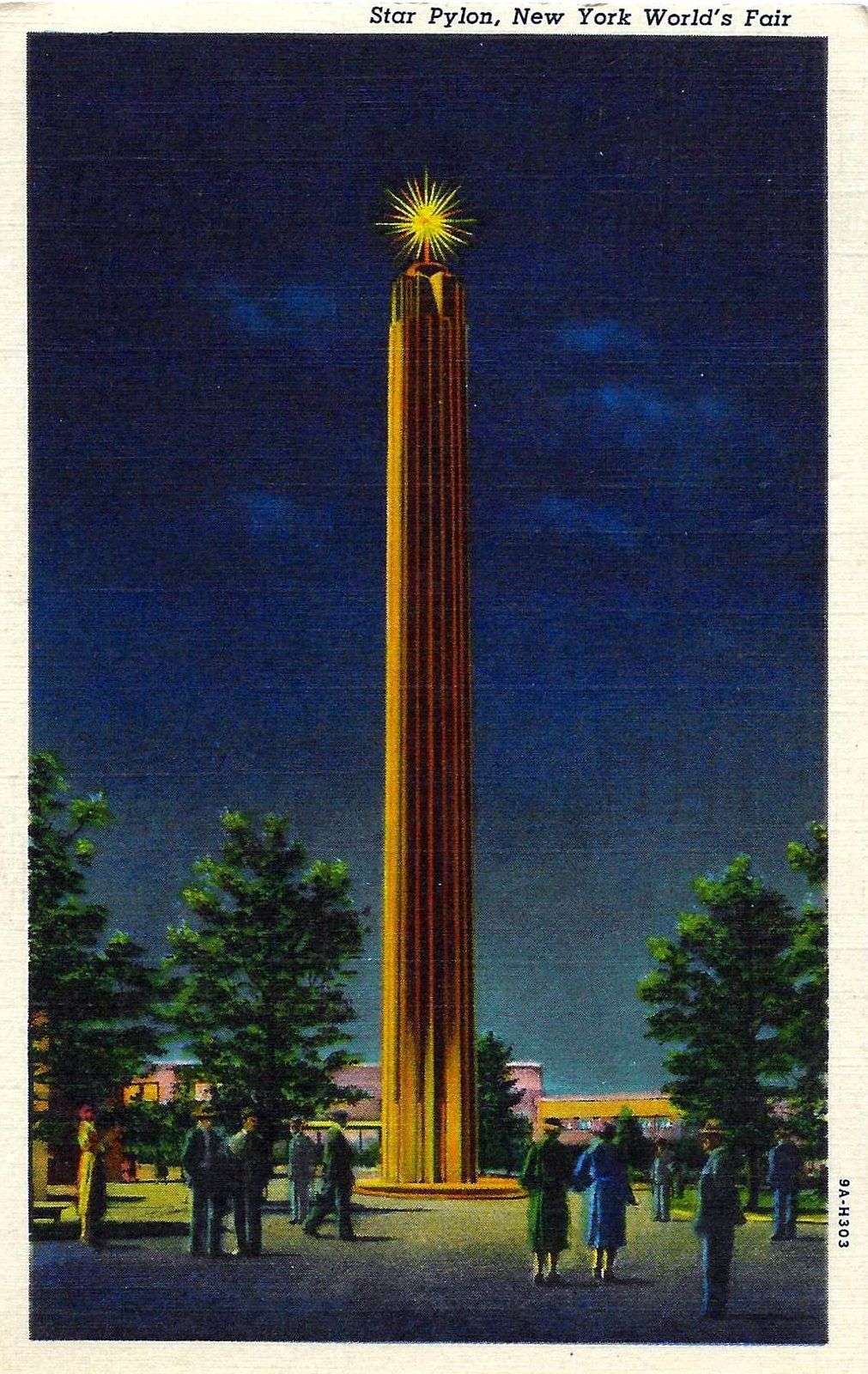 Vintage 1939 New York World's Fair Officially Approved