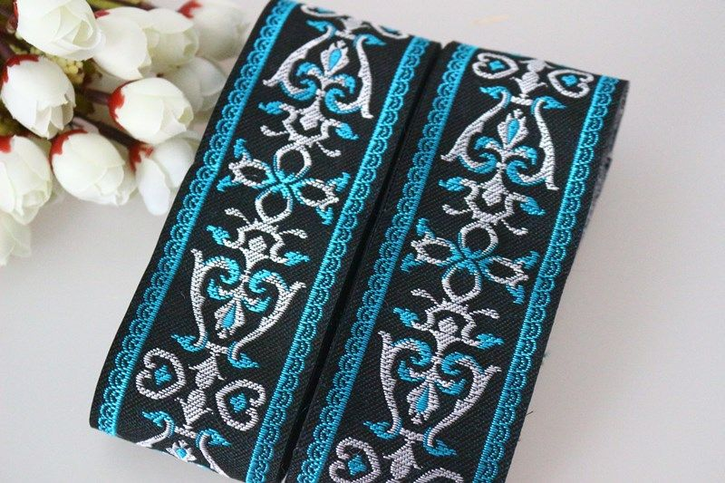 Popular Black Jacquard Ribbon-Buy Cheap Black Jacquard Ribbon lots ...