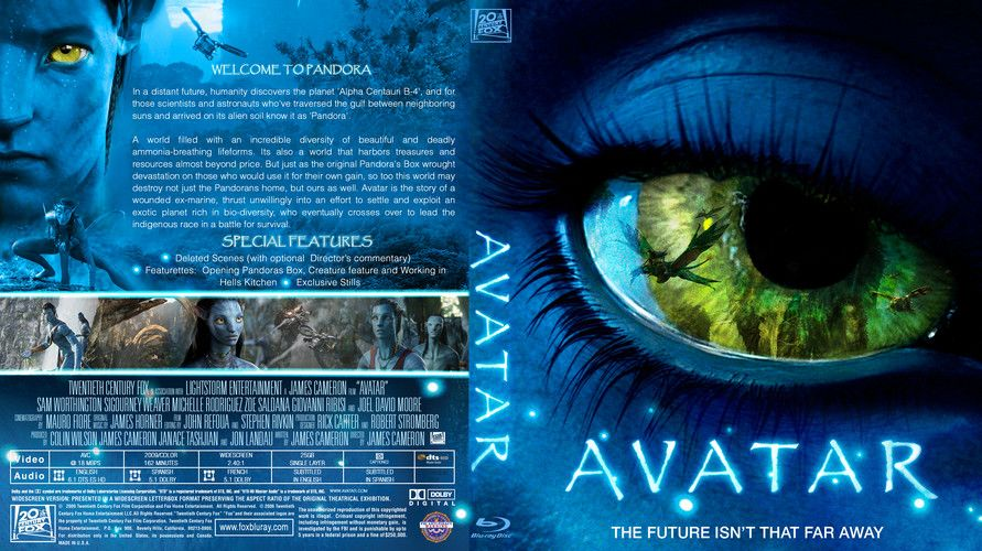 Avatar Custom Blu Ray Cover Avatar Blu Ray Movies Dvd Covers