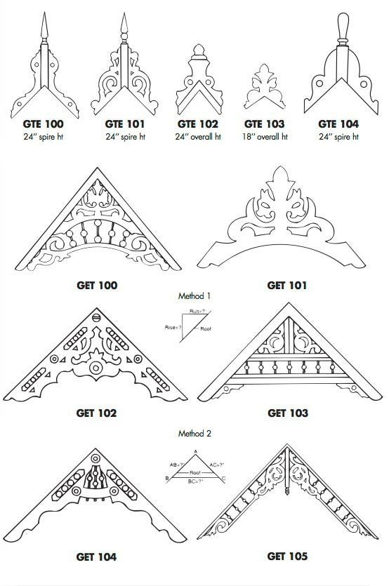 Catalog Page 2 Victorian Millwork By Mad River Woodworks Gable Decorations Victorian Porch Victorian Homes
