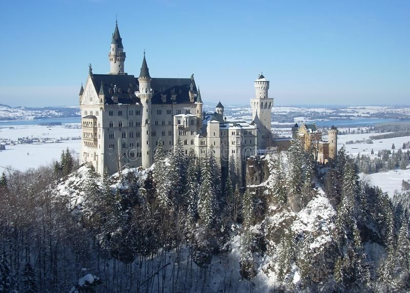Neuschwanstein Castle In The Snow Bavaria Germany Inspiration For The Disney Ad Snow Bavaria Neuschwanstein Castle Germany Castles Castle Pictures