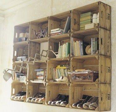 une déco en bois de cagettes ! | loisirs créatifs | pinterest