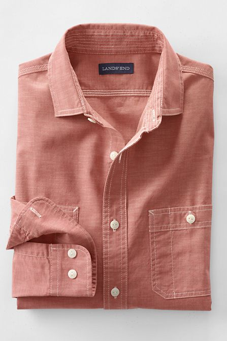 La Chemise Chambray Chantier Naval Homme