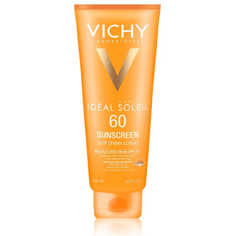 Vichy Capital Soleil Spf 60 Soft Sheer Sunscreen Lotion Belleza Soplo