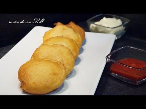 patatas con gabardina