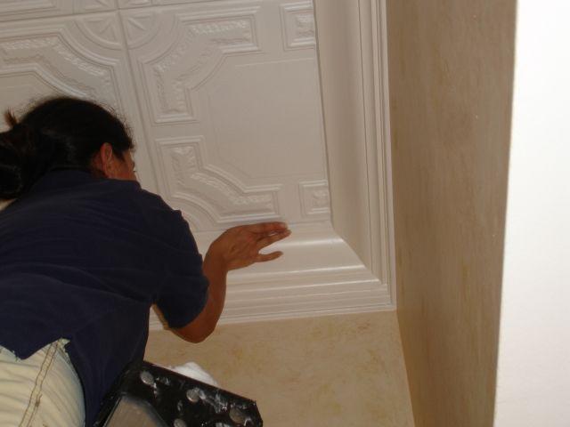 Decorative Tin Tiles Amusing Story Of Decorative Ceiling Tilesinc Bedroom  Pinterest Design Ideas
