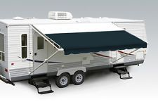 Rv Awnings Do Not Have To Be Without Flair Or Style For The Same Dollars You Can Have A Very Chic Look With Sunb Patio Awning Rv Awning Fabric Fabric Canopy