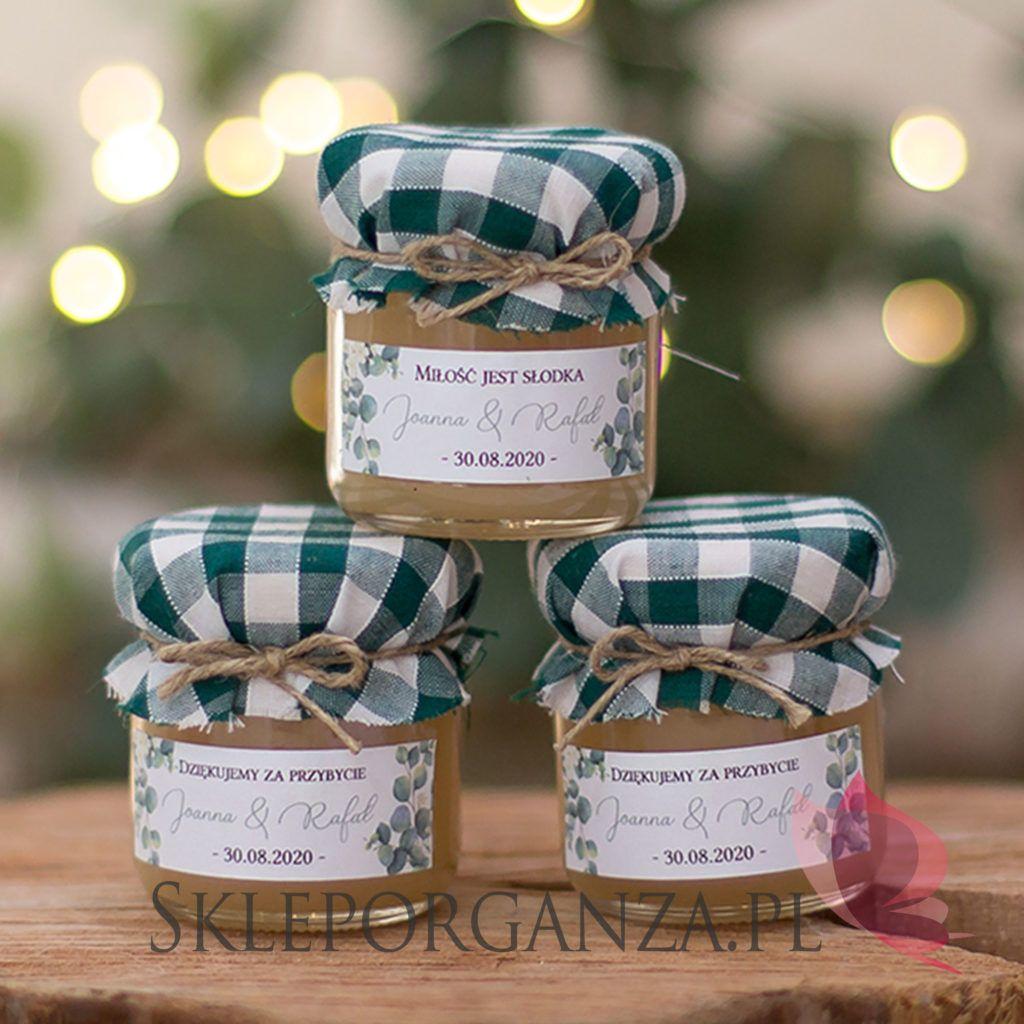 Kolekcja Slubna Eukaliptus With Images Honey Gifts