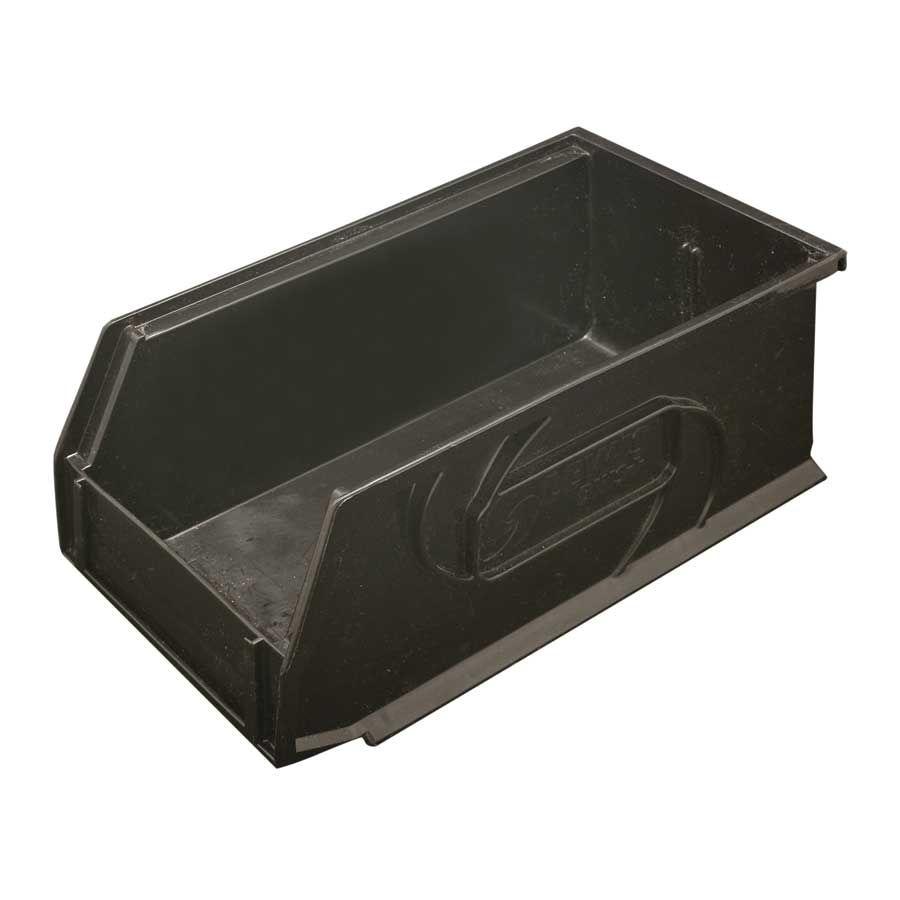 Hafele Omni Track Storage Bin 5 1 2 Inch X 10 3 4 Inch X 5 Inch Black Plastic 792 02 382 Hafele Storage Bins Tool Storage