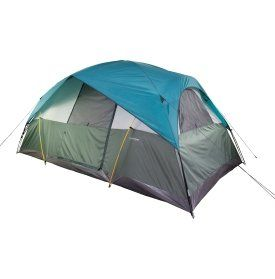 Field Stream Quad 8 Person Dome Tent Aqua SilverTan * To view further for this item  sc 1 st  Pinterest & Field Stream Quad 8 Person Dome Tent Aqua SilverTan * To view ...