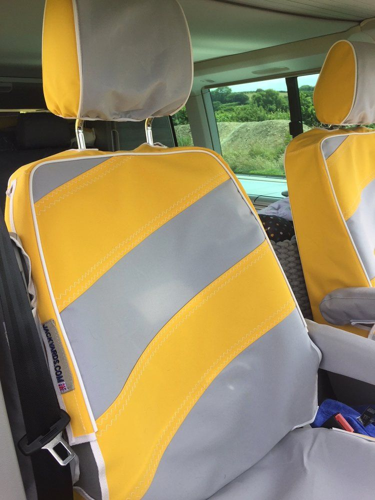 Jackyards Vw Front Captain Seats California Van Seat Covers