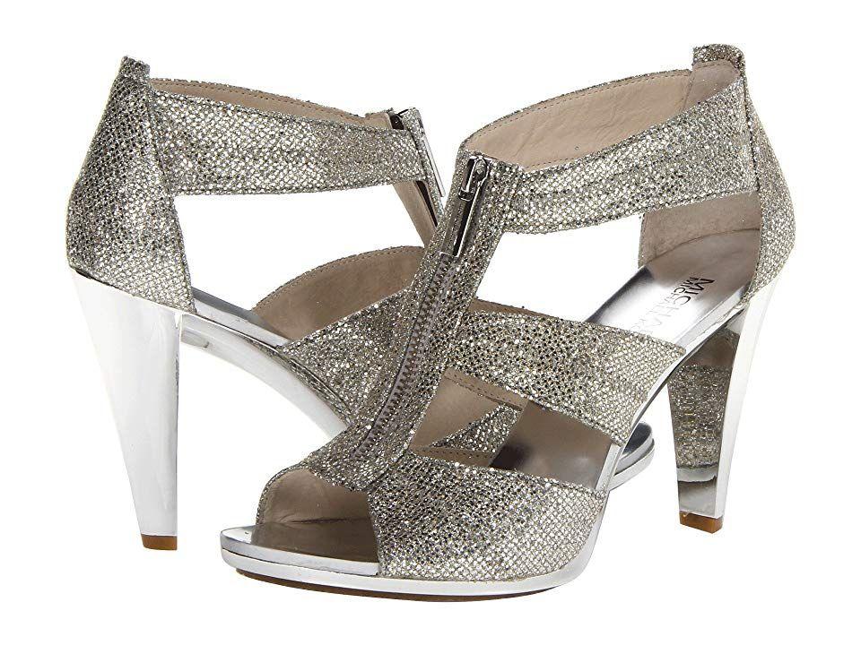Leather shoes woman, Michael kors heels