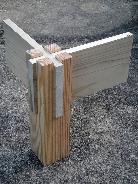 Table Joint Idea Style Mortise Tenon Joinery Wood Joinery