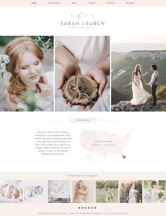 Wix Photography Website Template | Photography website templates ...