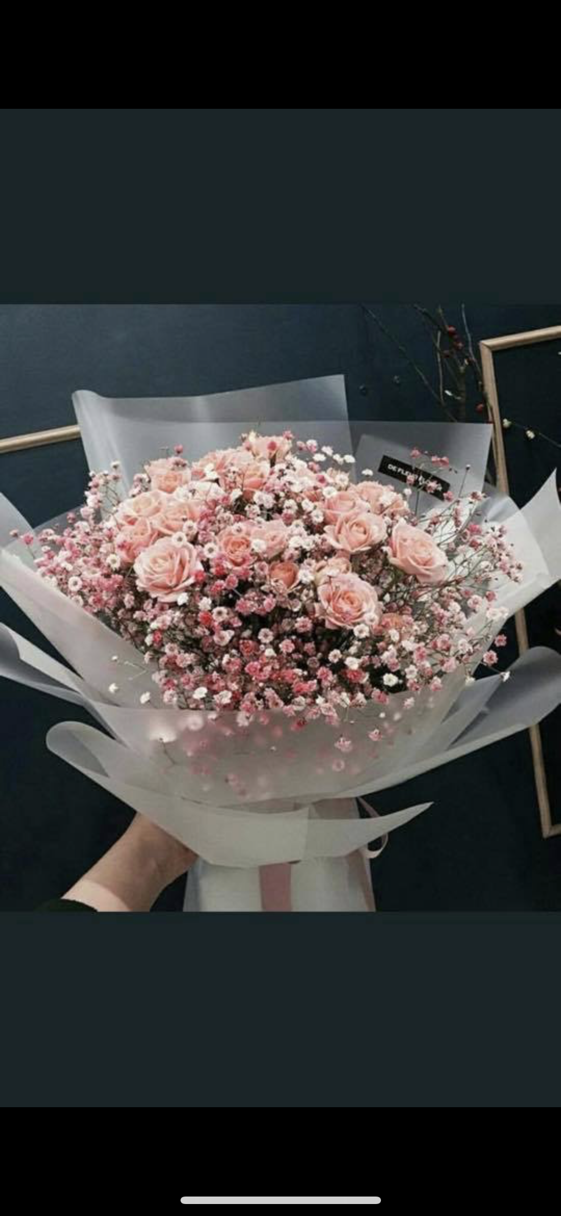 Pin By Sarah Ramirez Blanc On Wedding Pink Rose Bouquet Wax Flowers Pale Pink Roses