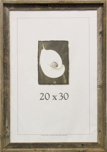 Frame Usa 17077 Barnwood Picture Frames 20 X 30 Continue To