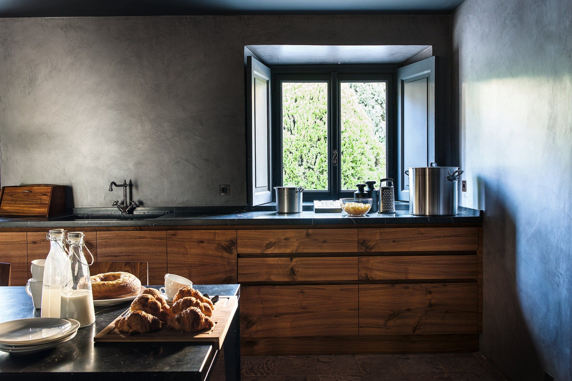 Fitted kitchen LA CUCINA By Riva 1920 design Matteo Thun