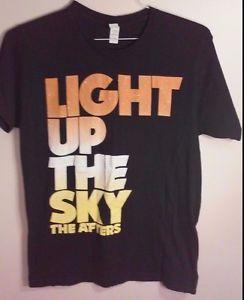 Light Up The Sky The Afters Black T Shirt Sz M Christian Pop Rock Band | eBay