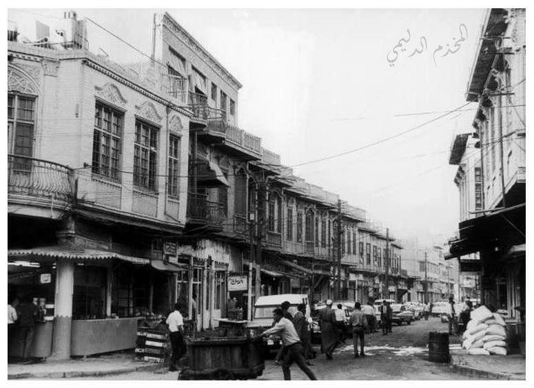 منطقة المربعة في شارع الرشيد مقابل جامع ومرقد السيد سلطان علي وهذا الشارع يؤدي إلى شارع الجمهورية ويضم مختلف المحلات التجارية وعدد Baghdad Baghdad Iraq Photo