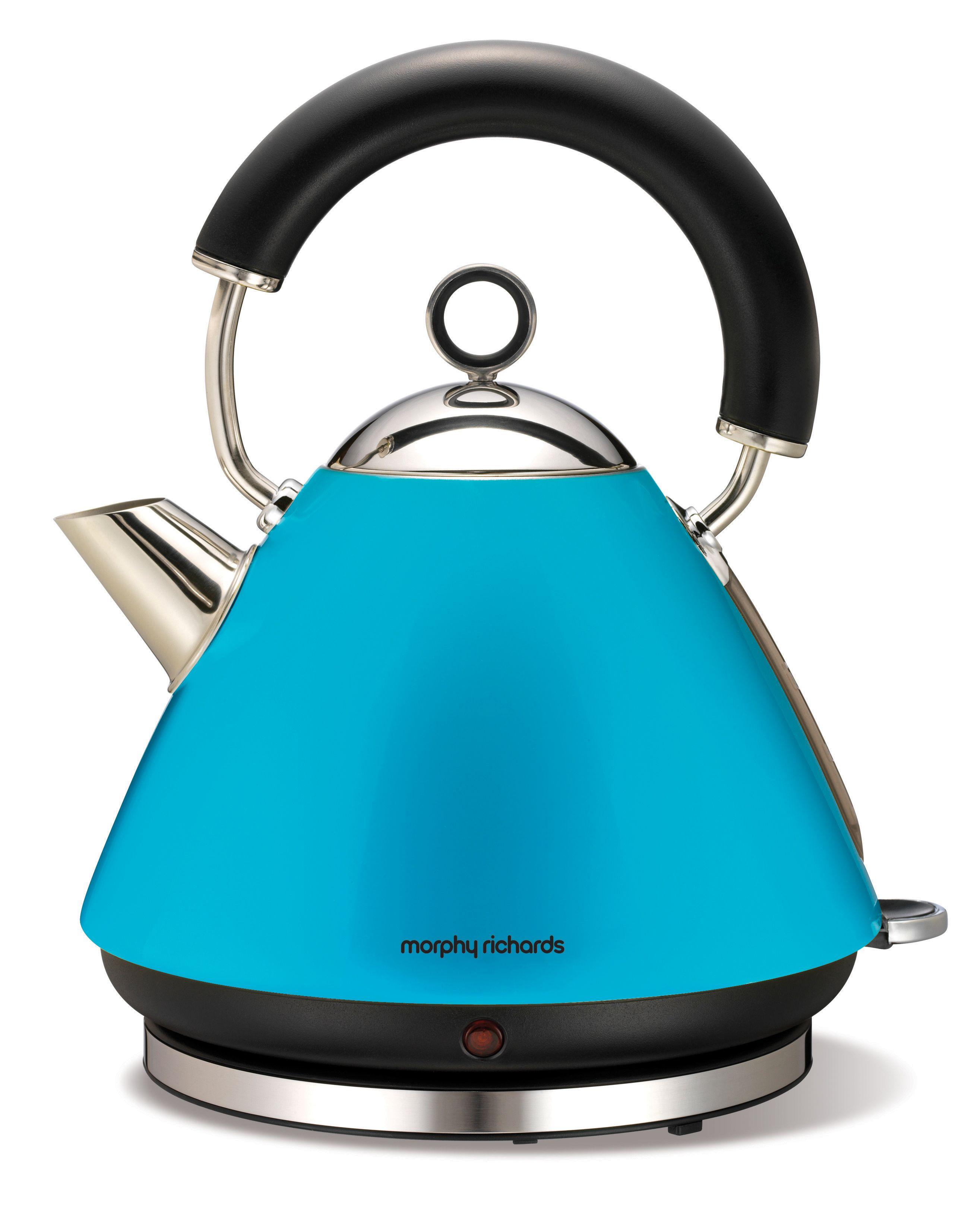 Morphy Richards Coffee Maker Blue : Morphy Richards Cyan Blue #blue #kettle Cyan Blue Pinterest Kettle