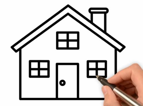 Paling Keren 14 Gambar Rumah Yang Mudah Cara Menggambar Rumah Dengan Mudah Tips Cara Mudah Menjual Rumah Masih Kpr Cara Mengga Gambar Cara Menggambar Rumah