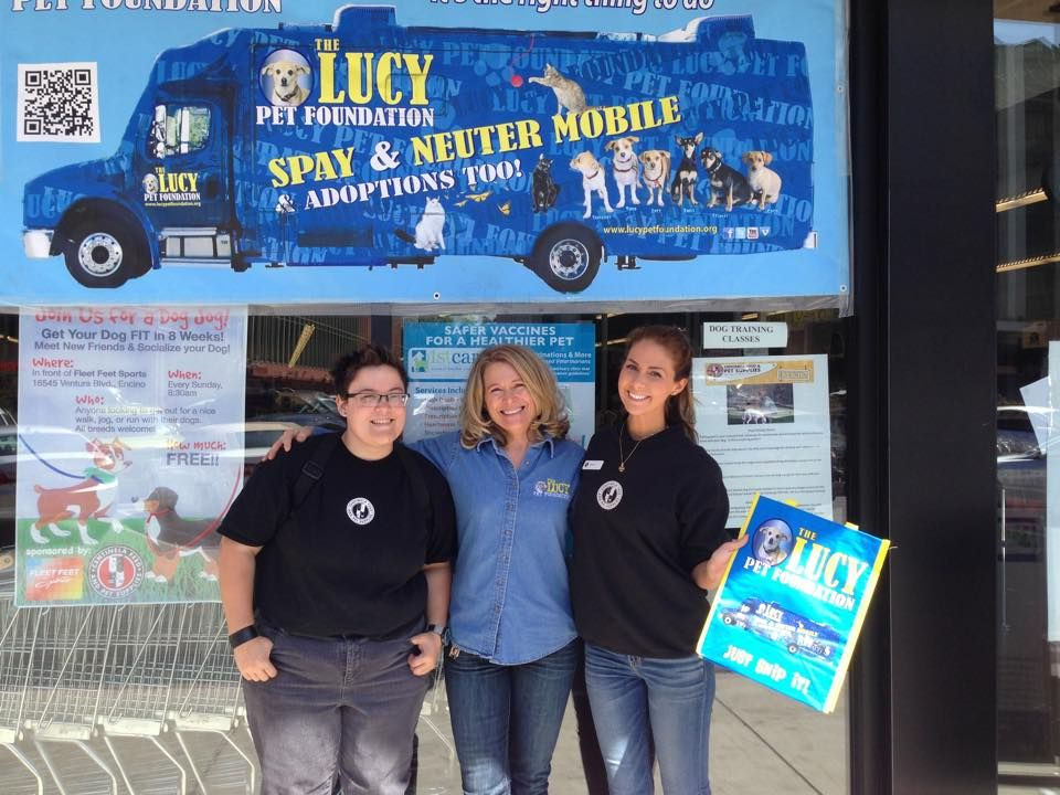 The Lucy Mobile offering spay and neuter services in