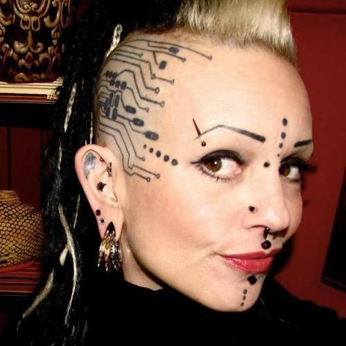 Tattoo Fixers Psychobilly Girl Punk: Pin By Vince Drew On Goth, Punk,Rockabilly,edgy Looks, And