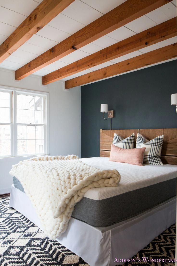 A peek inside our cabins master bedroom makeover w