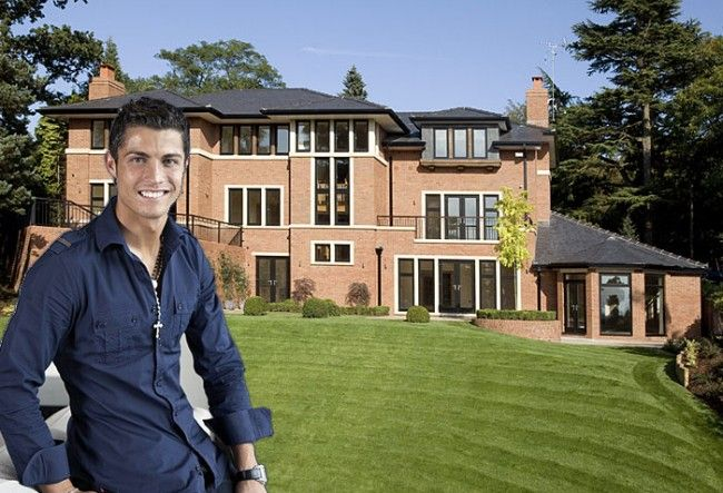 Cristiano ronaldo houses in madrid