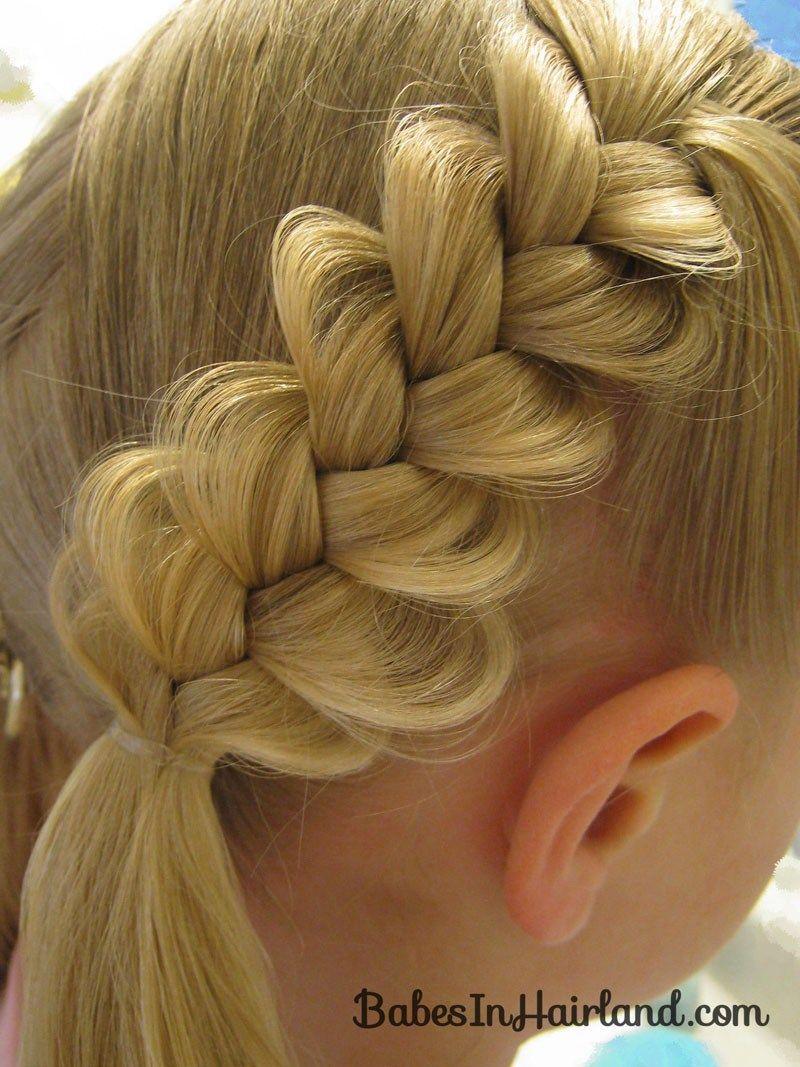 Heart braids valentineus day hairstyle hair dous