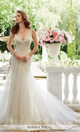 Sophia Tolli Rome/Y21665 Wedding Dress | Used, Size: 6, $1,000 #greekweddingdresses