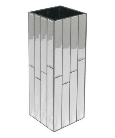 Look At This Zulilyfind Silver Square 12 Mirror Vase