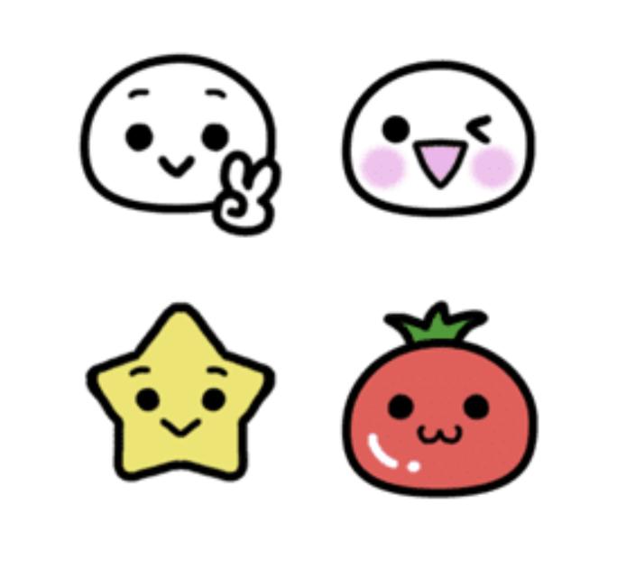 Shiromile Emoji In 2020 Emoji Hello Kitty Saved Items