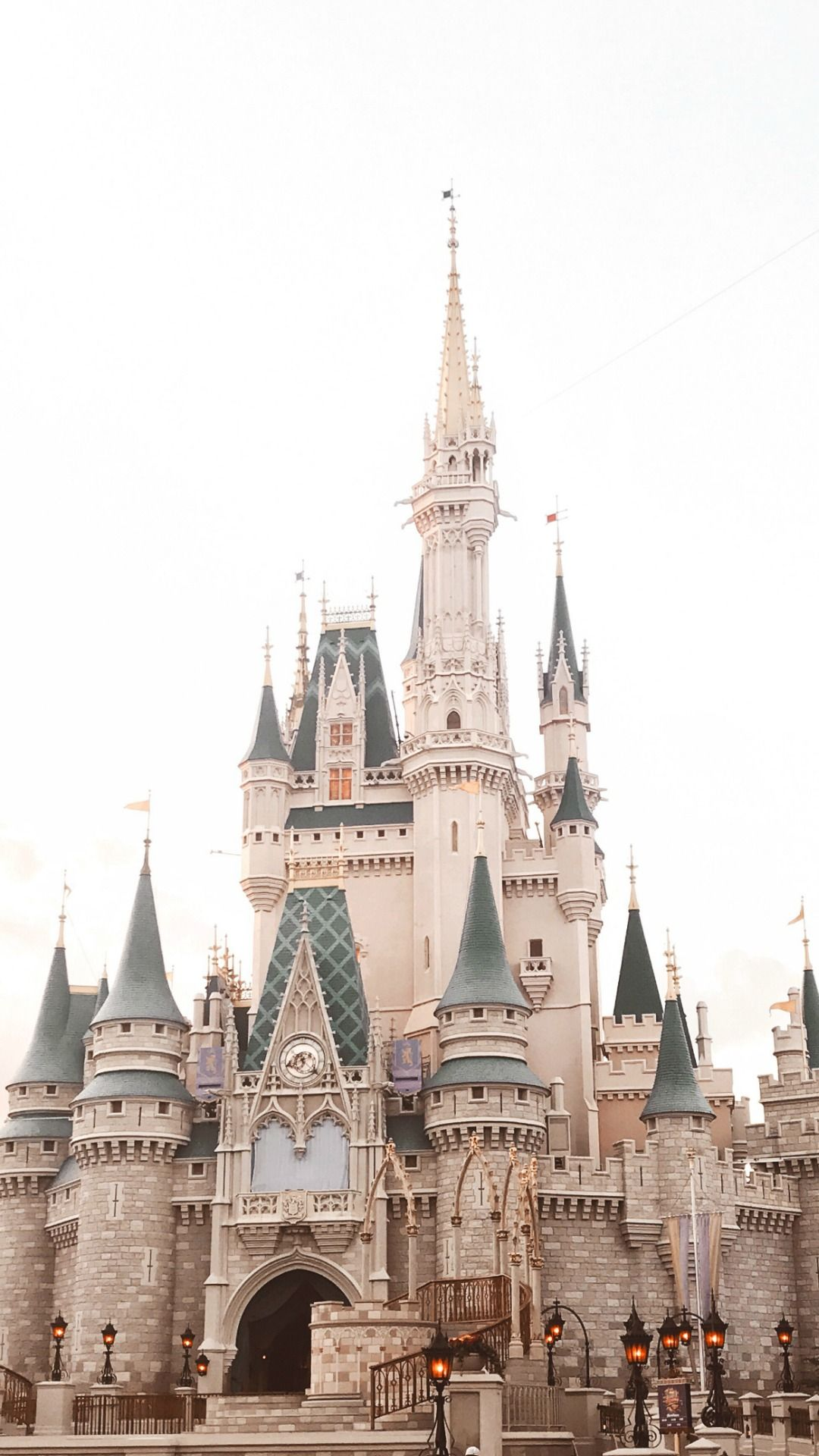 Disney Castle ★ Download more pretty iPhone Wallpapers at