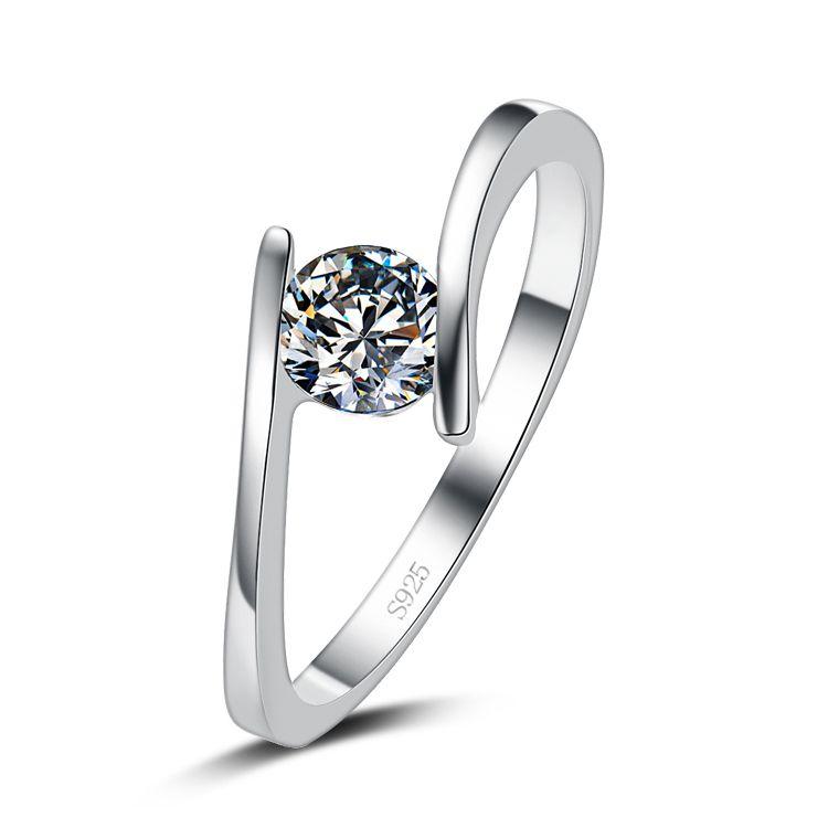 Lose Money Promotion Super Shiny Cz Diamond 30 Percent Silver