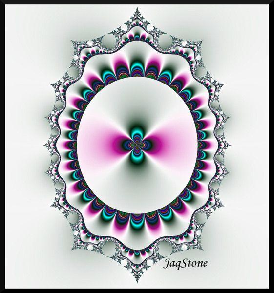 Rainbow Portal Fractal Art