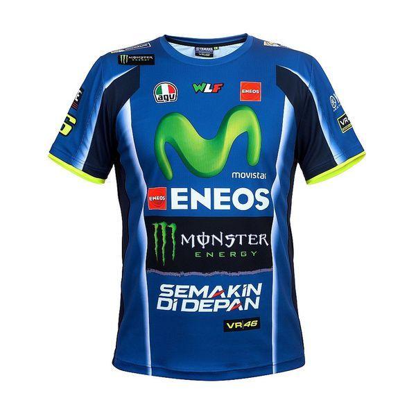 Valentino Rossi VR46 Moto GP M1 Yamaha Racing Team Polo Shirt Official New