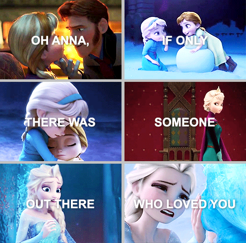 If Only There Was Someone Out There Who Loved You Frozen Right In
